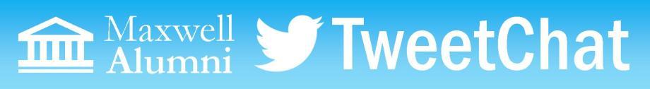 Alum TweetChat Banner